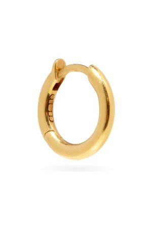 SPINELLI KILCOLLIN Micro Hoop 18kt Gold Single Earring - Mens - Yellow Gold