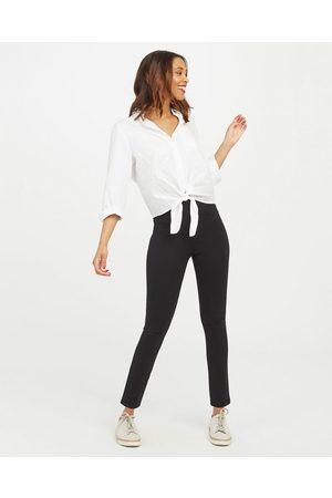 Spanx Dames Leggings & Treggings - The Perfect Black Ankle Four-Pocket Pant| Black