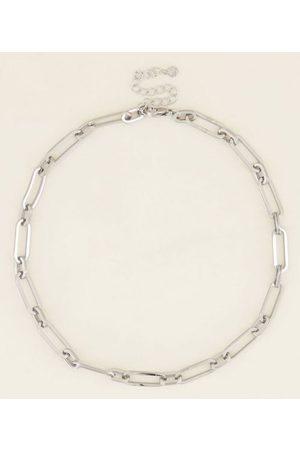 My Jewellery Dames Kettingen - Kettingen Ketting grote ovale schakels Zilverkleurig