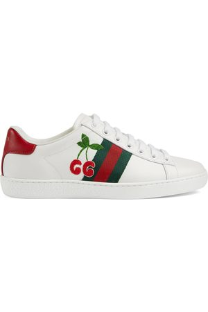 Gucci Women's Ace sneaker with cherry
