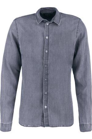Tigha Heren Overhemden - Herren Overhemd Senyo grijs (vintage grey)