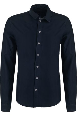 Tigha Herren Overhemd Senyo zwart (black)