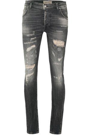 Tigha Heren Jeans Billy the kid 99102 repaired (vintage black)