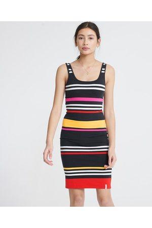 Superdry Dames Strakke jurken - Miami bodyconjurk