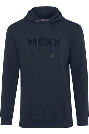 Mexx Heren Truien - Donkerblauwe Heren Hoodie