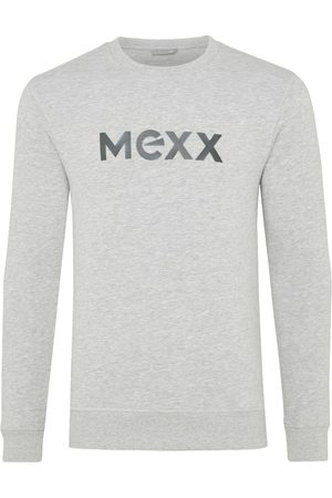 Mexx Heren Sweaters - Grijze Sweater met HD Print Heren