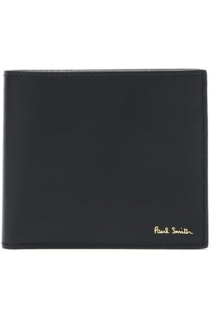 Paul Smith Leather Bi-fold Wallet - Mens - Black