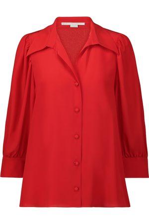 Stella McCartney Willow silk-crêpe shirt