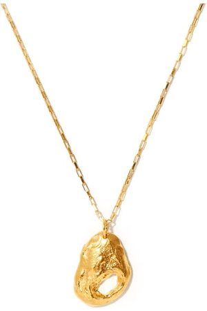 Alighieri The Clouds In Your Mind 24kt Gold-plated Necklace - Womens - Yellow Gold
