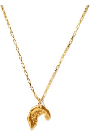Alighieri Baby Odyssey 24kt Gold-plated Necklace - Womens - Yellow Gold