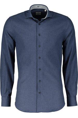 Jac Hensen Overhemd - Slim Fit - Blau