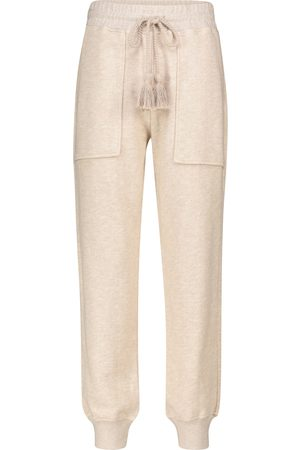 ULLA JOHNSON Charley cotton knit trackpants