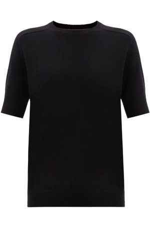 Lisa Yang Sweaters - Kenza Short-sleeved Cashmere Sweater