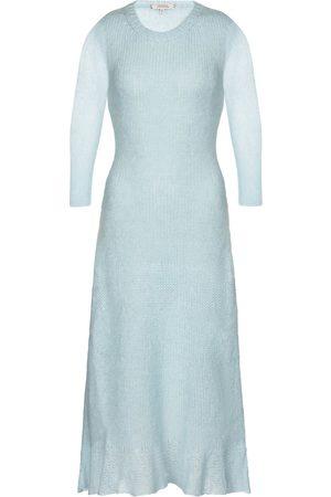 Dorothee Schumacher Dames Gebreide jurken - Airy Attitude mohair-blend midi dress