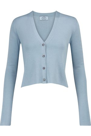 Prada Dames Cardigans - Cashmere and silk cardigan