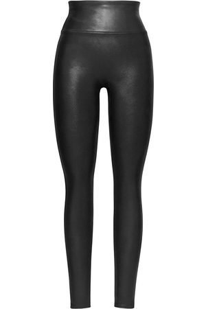 Spanx Dames Leggings & Treggings - Leggings Ready to Wow Faux Leather Leggings