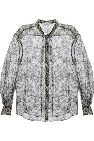 Dorothee Schumacher Dames Blouses - Shimmering Flower silk-blend blouse