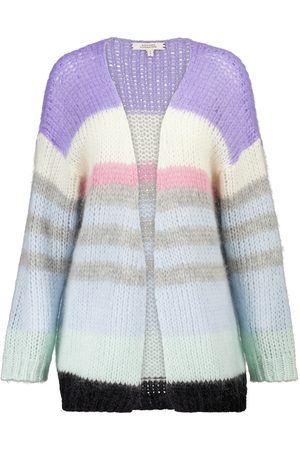 Dorothee Schumacher Airy Attitude striped mohair-blend cardigan