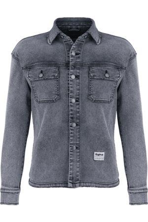 Tigha Heren Overhemden - Herren Overhemd Aiven grijs (mid grey)