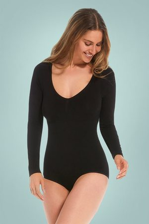 MAGIC Bodyfashion Bamboo Bodysuit in Black