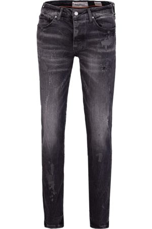 Tigha Heren Jeans - Heren Jeans Morty 68101 painted (vintage black)