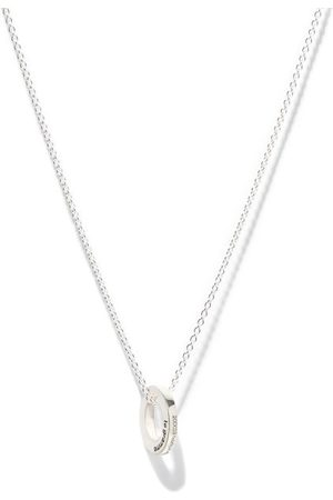 Le Gramme 1.1 Sterling-silver Circle-pendant Necklace - Mens - Silver