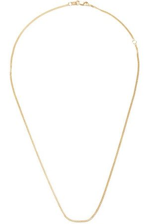 Jade Trau No. 40 18kt Gold Curb-link Chain Necklace - Womens - Yellow Gold