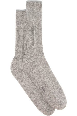 Falke Walkie Ergo Wool-blend Socks - Mens - Grey