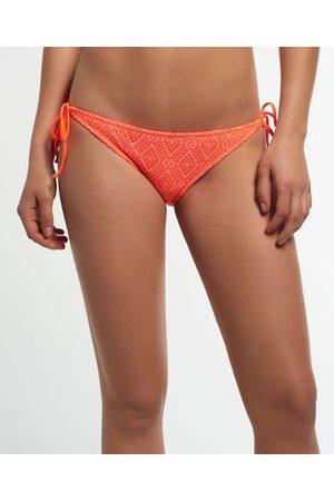 Superdry Geruit kanten bikinibroekje