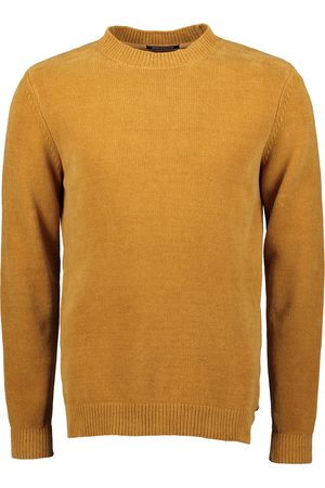 No Excess Heren Pullovers - Pullover - Modern Fit - Oker
