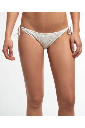 Superdry Dames Bikini broekjes - Geruit kanten bikinibroekje