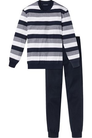 Schiesser Pyjama Blauw 159623