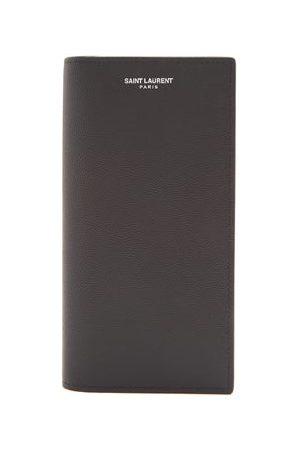 Saint Laurent Continental Leather Wallet - Mens - Black