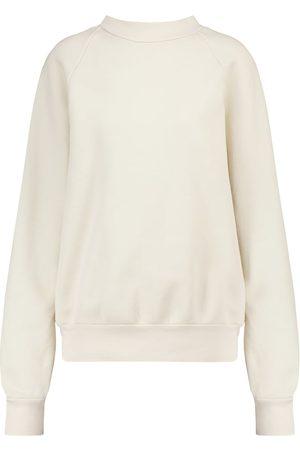 Les Tien Cotton fleece mockneck sweatshirt