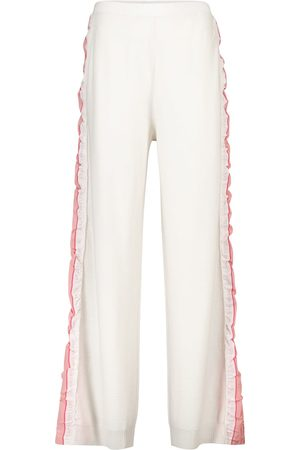 Stella McCartney Monogram virgin wool trackpants