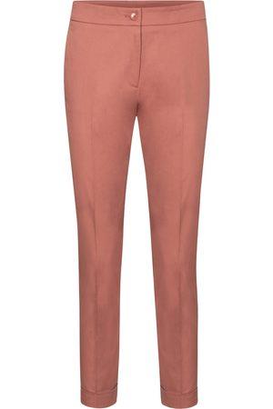 Etro High-rise slim stretch-cotton pants