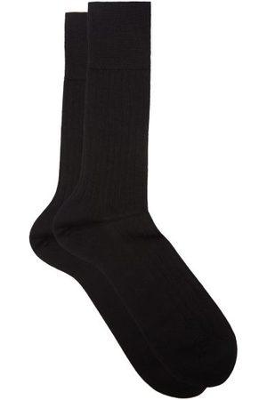 Falke No.2 Finest Cashmere-blend Socks - Mens - Black