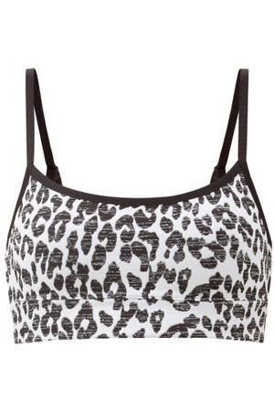 The Upside Natacha Snow-leopard Low-impact Sports Bra - Womens - Leopard