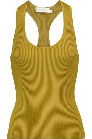 ZIMMERMANN Lovestruck stretch-knit tank top