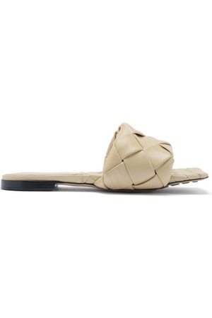 Bottega Veneta Dames Slippers - The Lido Intrecciato Leather Slides - Womens