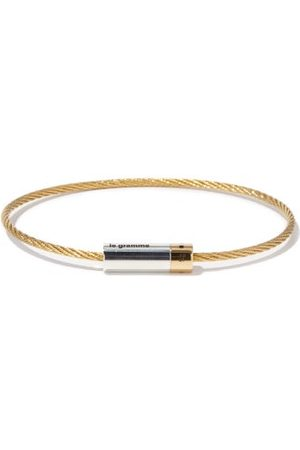 Le Gramme 9g 18kt Gold Cable Bracelet - Mens - Gold