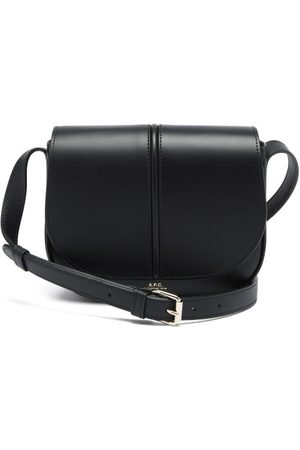 A.P.C. Betty Smooth-leather Cross-body Bag - Womens - Black