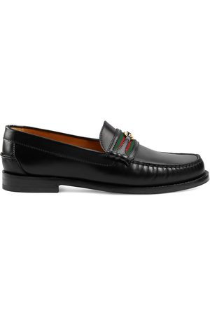 Gucci Heren Loafers - Men's loafer with Double G