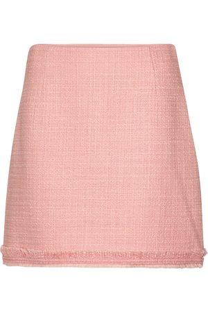 Tory Burch Wool-blend tweed miniskirt