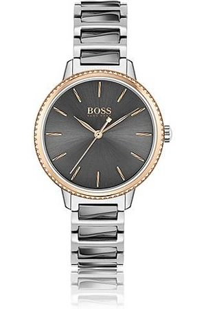 HUGO BOSS Dames Horloges - Horloge met geschakelde polsband en lunette met Swarovski®-decoratie