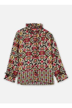 Bakker Made With Love Top Bernadette long sleeves with Froufrou collar by