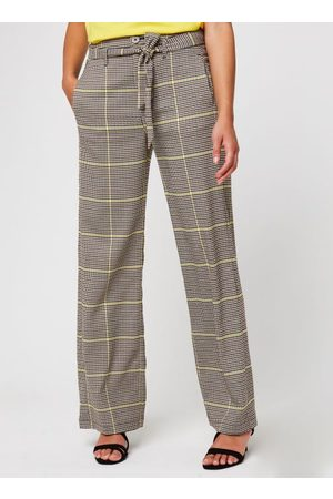 Scotch&Soda Wide leg belted pants in special check by