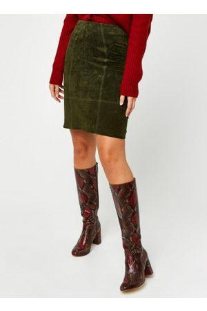 VILA Vifaith Hw Suede Skirt by