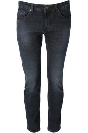 HUGO BOSS Heren Jeans - Jeans 50438687 DONKER