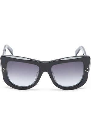 Céline Dames Zonnebrillen - Oversized D-frame Acetate Sunglasses - Womens - Black
